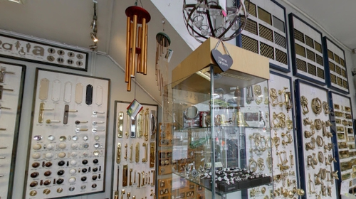 Knobs and Knockers has been on Nassau Street in Dublin city centre for over 40 years