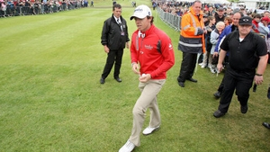 Rory McIlroy playing the Irish Open at Royal Portrush in 2012