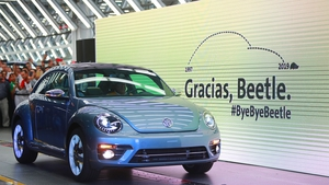 The limited, 65-unit run of the 'Beetle Final Edition' will be sold on the internet for a base price of $21,000 per car