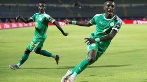 The Everton midfielder struck after 69 minutes before Olivier Verdon was dismissed for Benin late on