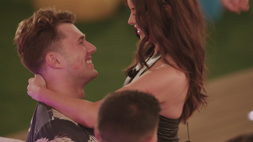 Curtis and Maura kissed on Wednesday night's Love Island