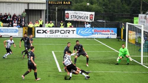 Oriel Park has limited seating, forcing Dundalk to play European games in Tallaght