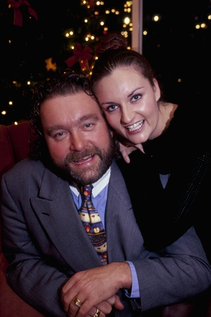 2002: Brendan Grace with his daughter Melanie