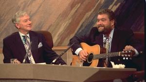 1990: Gay Byrne and Brendan Grace