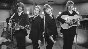 1970: Brendan Grace performing with Irish folk group The Gingermen