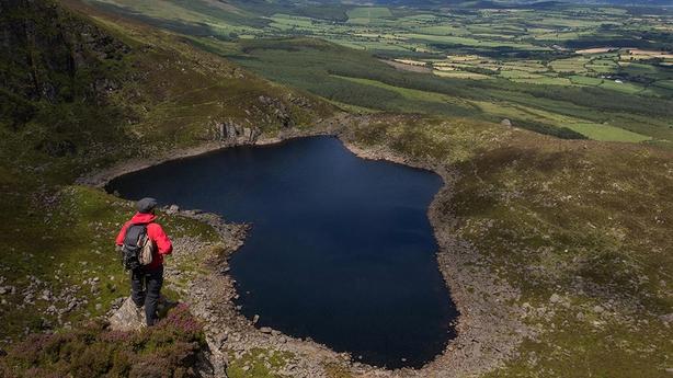 Crottys Lake Comeragh Mountains