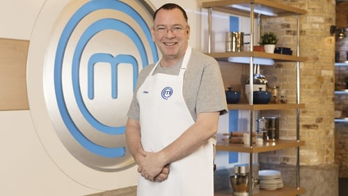 Adam Woodyatt set to cook up a storm in the Masterchef Kitchen
