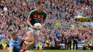 O'Connor gives Dublin's Paul Mannion the slip