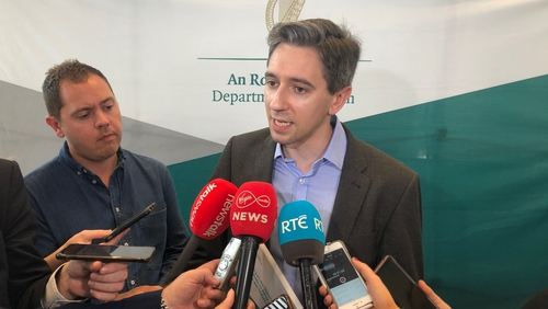 Simon Harris has urged both sides in the dispute to return to the Workplace Relations Commission