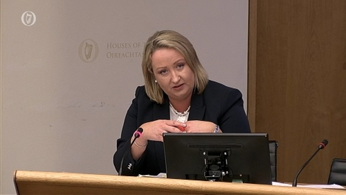 Mellissa English was before the Public Accounts Committee