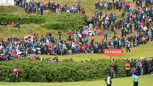 The Irish Open was held in Portrush in 2012.
