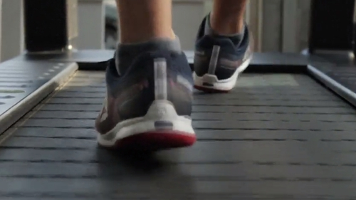 The equipment turns the watts generated during a workout into electricity to power the gym