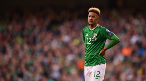 Callum Robinson starts for Ireland