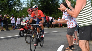 Dylan Teuns was the top dog on one of the most challenging stages of this year's Tour de France