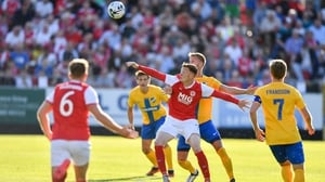 St Pat's had their moments but conceded two away goals