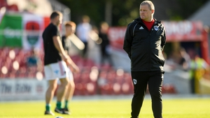 John Cotter saw his team fall to a 2-0 home defeat to Progrés Niederkorn
