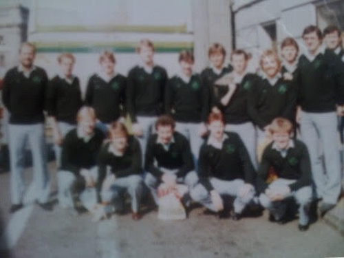 Ireland team in Chile