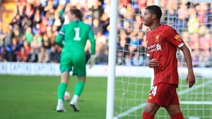Rhian Brewster looks set to get a bigger role at Anfield next season