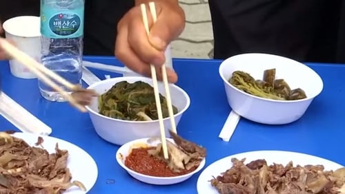 Consumption of dog meat is on the decline in South Korea, as dogs increase in popularity as pets