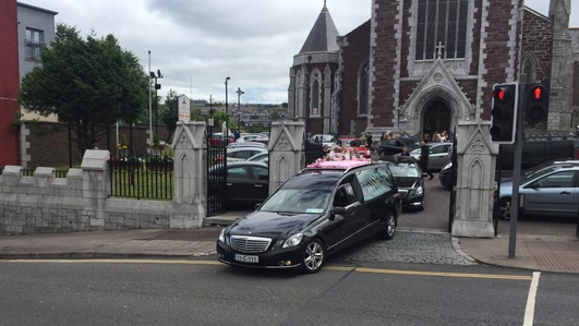 Funeral of Santina Cawley takes place in Cork