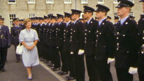 Garda Passing Out Parade in Templemore (1984)