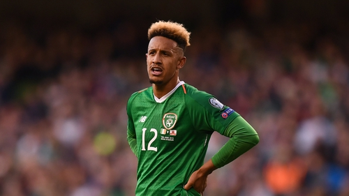 Ireland striker Callum Robinson is bound for Sheffield United