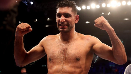 """Amir Khan: """"Hopefully we come back again at the end of the year and bring Manny Pacquiao here."""""""