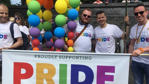 Parade also marks the culmination of a week of Pride events in the city