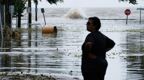Authorities urged citizens to secure property, stock up provisions and shelter in place