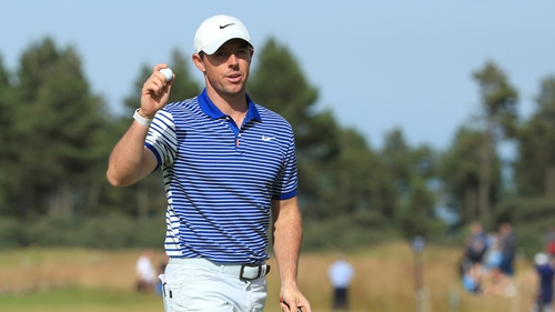 """Rory McIlroy: """"It would obviously mean the world to me (to win), just like winning at Hoylake meant the world."""""""