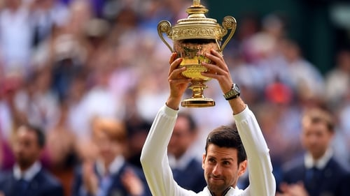 Novak Djokovic is looking to become the most decorated man in the world