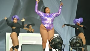 Lizzo performing at the Glastonbury Festival in June 2019