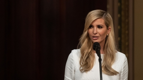 """Ivanka Trump: """"If she ever wanted to run for president"""",the current US presidentsaid, """"I think she'd be very, very hard to beat."""""""