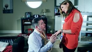 Robbie proposes to Carol (2015)