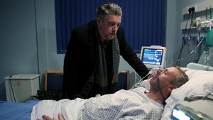 Karl Shiels as Robbie and Steve Gunn as Dan (2018)
