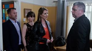 Eric Lalor as Cathal, Rachel Pilkington as Jane, Aisling O'Neill as Carol and Karl Shiels as Robbie (2018)