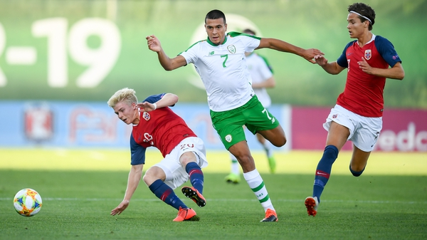 Ali Reghba was Ireland's most influential player in the first half