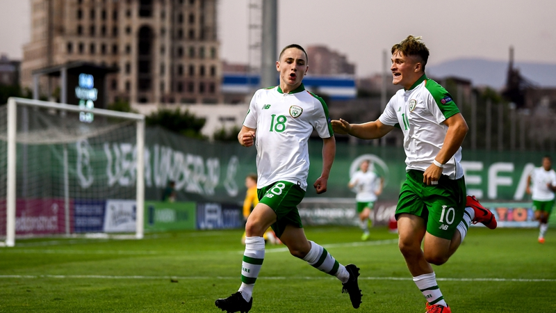 Hodge screamer sees Ireland U19s open Euros with a draw