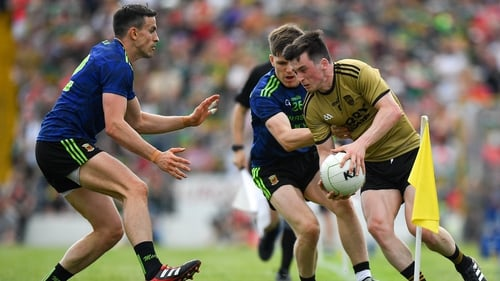 Paul Murphy on the ball against Mayo