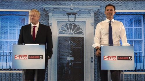 Boris Johnson and Jeremy Hunt took part in the leadership debate organised by the Sun newspaper and TalkRadio