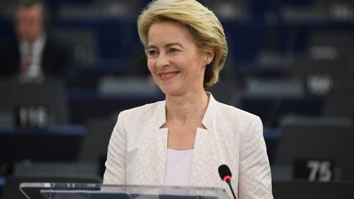 Ursula von der Leyen has become the commission's first female president