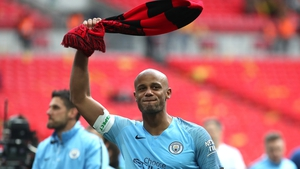 Vincent Kompany gets a final chance to wave goodbye to Manchester City fans tonight
