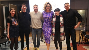 Panti Bliss with guests Natalya O'Flaherty, Joe Caslin, Aoife Kelleher and Damien Dempsey