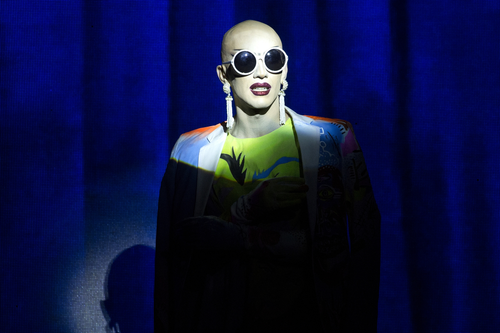 Image - Winner of RuPaul's Drag Race season 9 Sasha Velour Photo: Getty Images