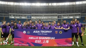 The Manchester City squad have finally arrived in Shanghai