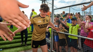 The Fossa youngster is already becoming a key figure in the Kerry team in just his second season of inter-county football