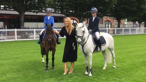 Aoibhín Garrihy attends the launch of the Dublin Horse Show and talks all things Beo Wellness