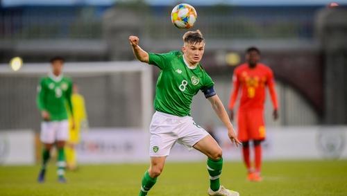 Seamas Keogh was also Under-15 and Under-16 Ireland captain