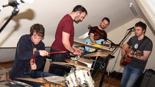 Constant Supply: boys in the attic