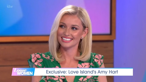 Amy Hart to head back to Loose Women as a panellist next week